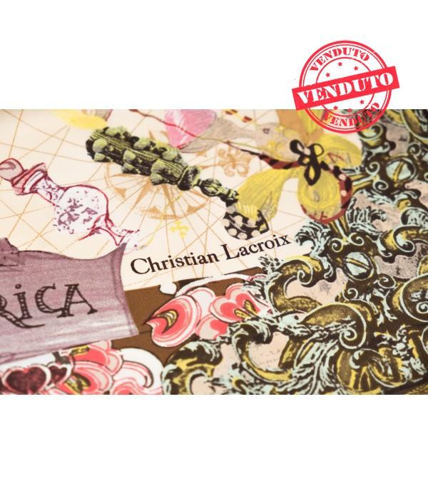 CHRISTIAN LACROIX FOULARD