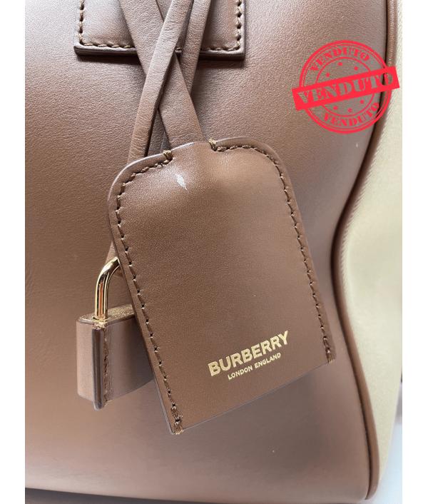 "BURBERRY ""CUBE"" BAG"