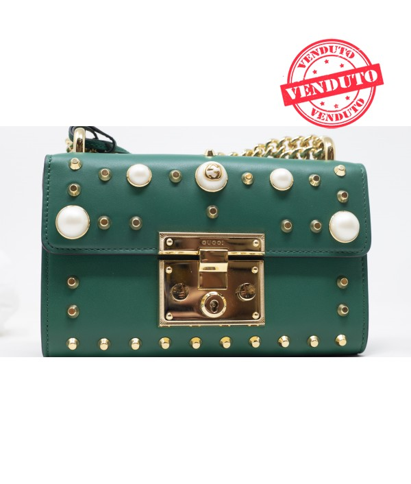 GUCCI PADLOCK VERDE - LIMITED EDITION